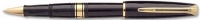 30073 Waterman Charleston Ebony Black GT Rollerball Pen S0701000 *