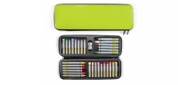 VF 30113 XONEX Lime Art Pod : 9.5x3.25 with 18 oil pastels - 12 crayons