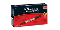 SS 30001 SHARPIE 12-Pack FINE BLACK PERMANENT MARKER -$0.45 ea -