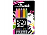SS 30631 SHARPIE  5-Pack FINE PERMANENT MARKER 80s GLAM - $0.69 ea - JP LWO VGV BCY AG 30631 -